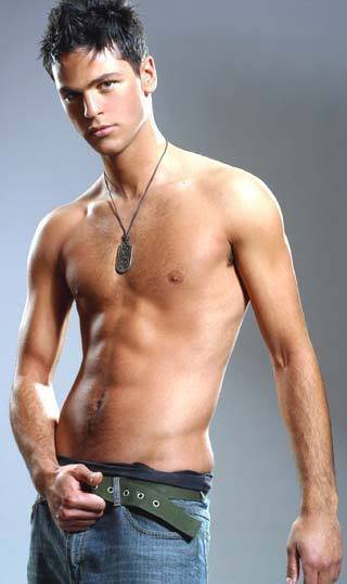 Even this random male model has weird ears!! Though admittedly, an excellent bod.