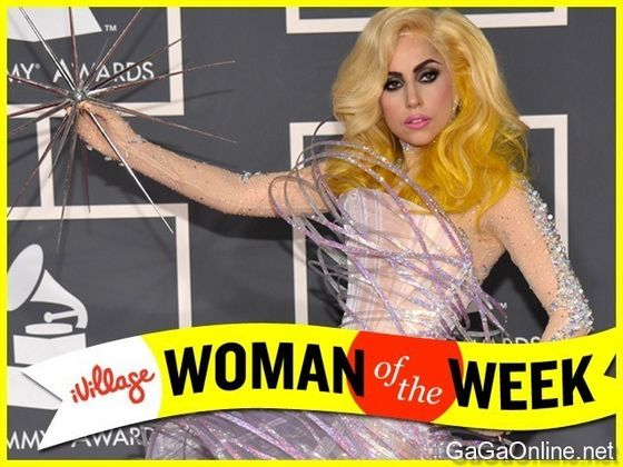 Lady GaGa: Woman Of The Week