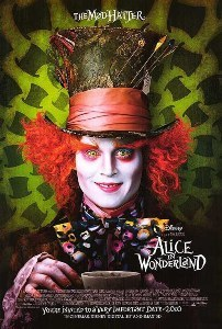 The Hatter, er, Alice in Wonderland poster.