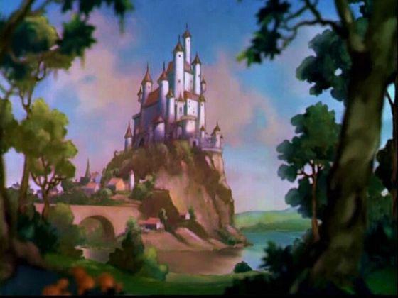 (Snow White's castle)