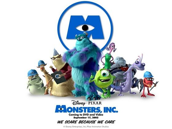19. Monster Inc. The first of the 3 ピクサー・アニメーション・スタジオ films on the 一覧 it is funny and a witty challenge for the characters.