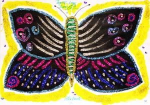 Thomas Law's con bướm, bướm