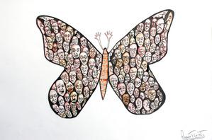 Rupert's butterfly, kipepeo