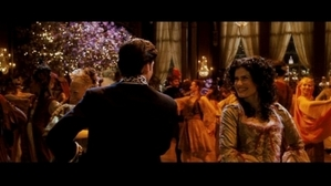 First Robert is dancing with Nancy his girlfriend.The Musica is very classy before we see Giselle all different.