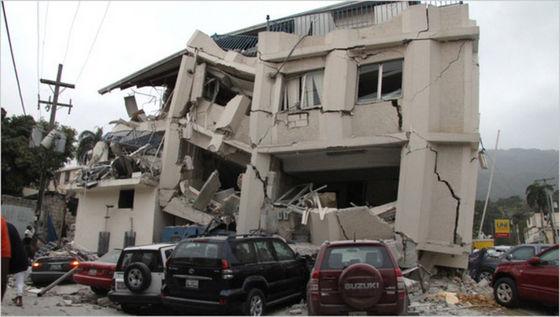 Haiti's earthquake.