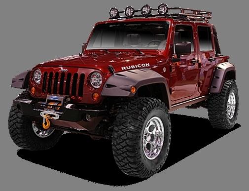 Emmet's Jeep