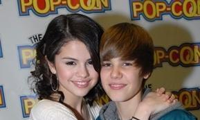 Selena Gomez With Justin Bieber!