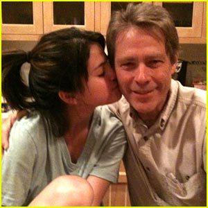 Selena Gomez with her Grandpa!