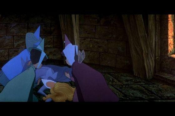 """I find Aurora touching the spinning wheel a lot less tragic than Mulan.""- cruella"