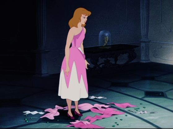 """Cinderella's dress being torn apart is one of the most heartbreaking for me.""- mongoose09"