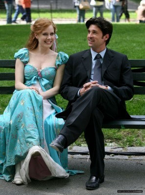 Giselle's blue dress: Loved this one as it was simply and sweet.