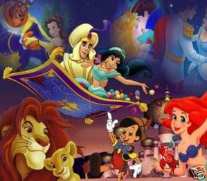The Disney songs we all know and love.
