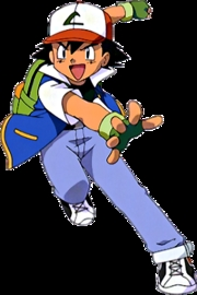 Ash Ketchum in Indigo League