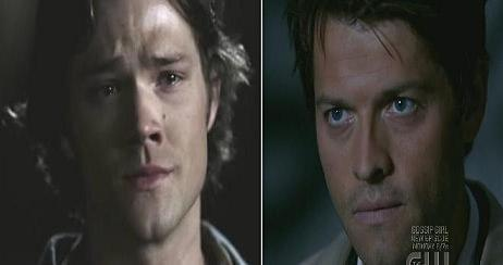 """Sam: """"Why are you stealing my fan girls Cas?"""""""