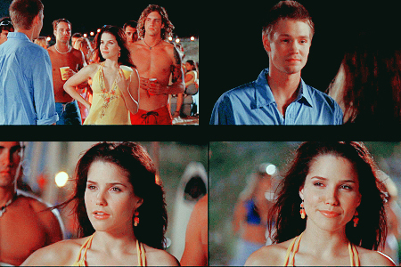 """I'm the guy for আপনি Brooke Davis."""