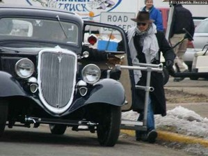 on the set of public enemies