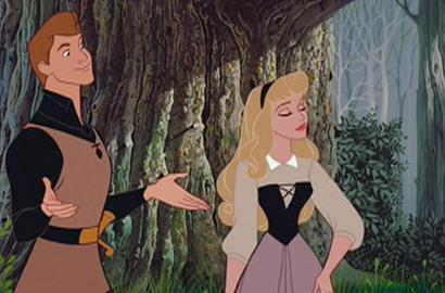 I much prefer the forest scene to the Cenerentola one. Because I like the way it flows, basically. It's so silly that two people would start dancing in the middle of a forest.- Straggy