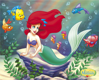 Ariel is Captain of the Swimming Team