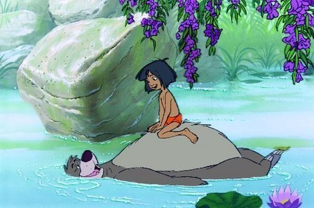 Look for the bare necessities, the simple bare necessities. Forget about your worries and your strife