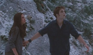 Edward protecting Bella from Victoria