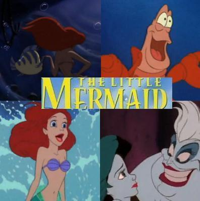 Shown here: Part of Your World, Under the Sea, Part of Your World (Reprise), Poor Unfortunate Souls