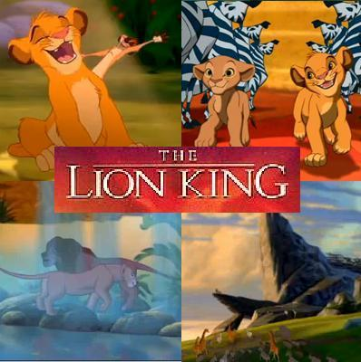 Shown here: Hakuna Matata, I Just Can't Wait to be King, Can 你 Feel the 爱情 Tonight, 圈, 圈子 of Life