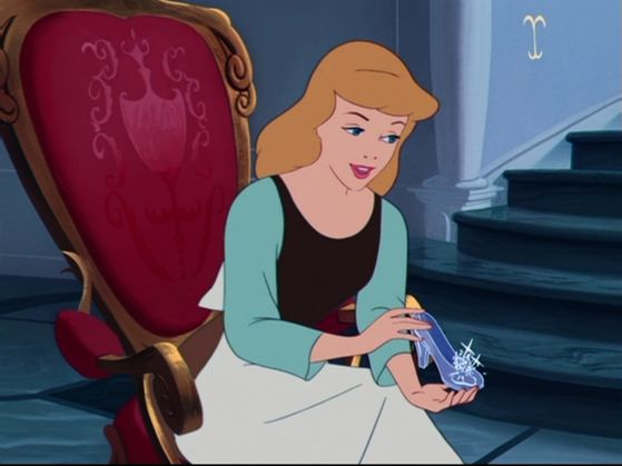 But bạn see, I have the other glass slipper!