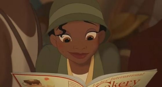 7.Tiana her eyes big and beautiful and how her eyes sparkled during Ma Bella Engaline but I like blue eyes better