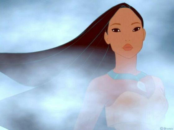 3.Pocahontas she definatly has the most soulful eyes of all the Disney princesses so gorgeous especually in this picture but again blue eyes