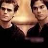 ..one of the biggest reasons why I 愛 this 表示する are the SALVATORE BROTHERS!!