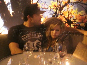 Avril and Brody at boa