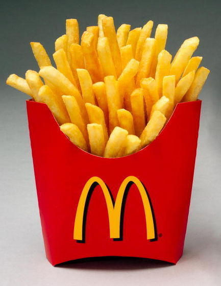 The yummiest from Aladdin is... French Fries