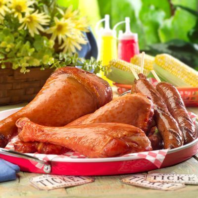 The yummiest from Pocahontas is... Turkey Legs