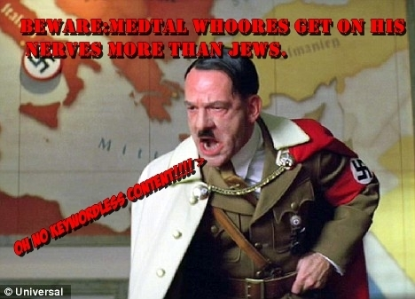 Nothing can be scarier than Hitler.