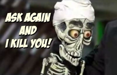 Achmed the dead terrorist, character by Jeff Dunham