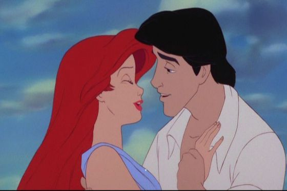 This one was so cute as Trition turned Ariel into a human.
