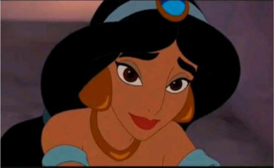 4.Jasmine in Enchanted Tales she looks absoutly gorgeous she almost looks as good as the original good animatie but some people on Fanpop found something off about her