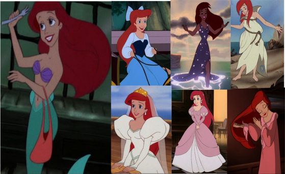 """Poor Ariel and the wrath of the 80s. Dressed in two розовый monstrosities AND she's a redhead?! It just gets worse and worse.""- Straggy"
