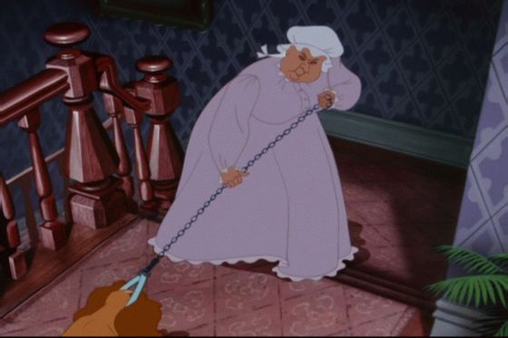 11.Aunt Sarah(Lady and The Tramp)