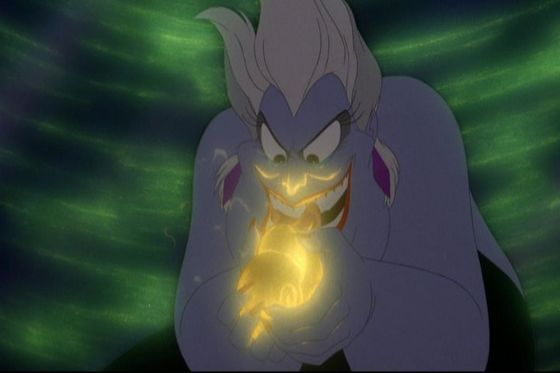 3.Ursula(The Little Mermaid)