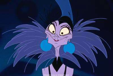 2.Yzma(The Emperor's New Groove)