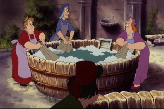 14.Luandry Women(The Little Mermaid)