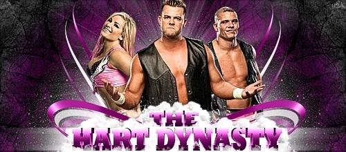 Hart dynasty def. The Miz & Chris