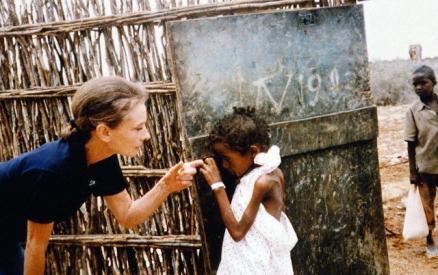 Audrey on a UNICEF Mission to Ethiopia