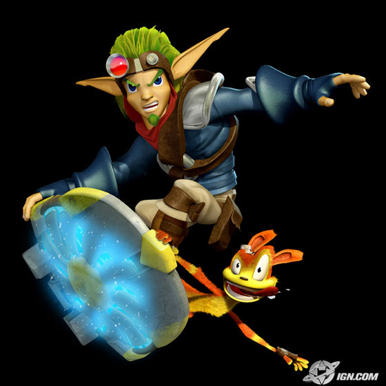"""Daxter!""-- Jak ""Don't thank me! I'm only here because bạn wouldn't last a một giây without me! Okay tough guy, bạn got us into this mess, now ya gotta get us out!""-- Daxter"
