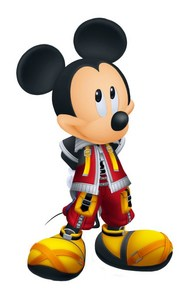 King Mickey Without His Organization XIII Cloak