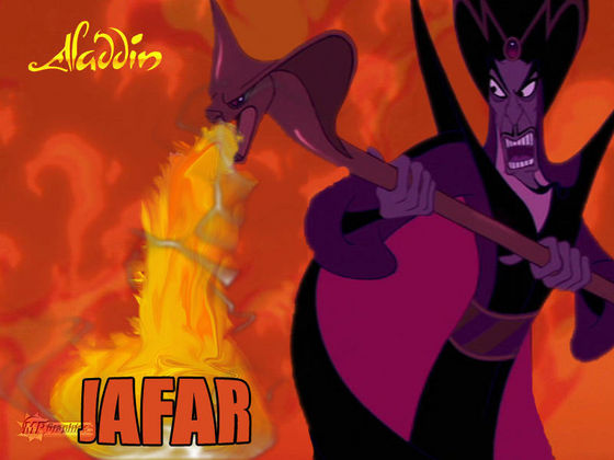 Sorry, I can't hear you over the sound of how epic this wallpaper of Jafar is.