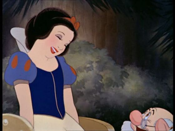 I love Snow White because she is PLEASANT.