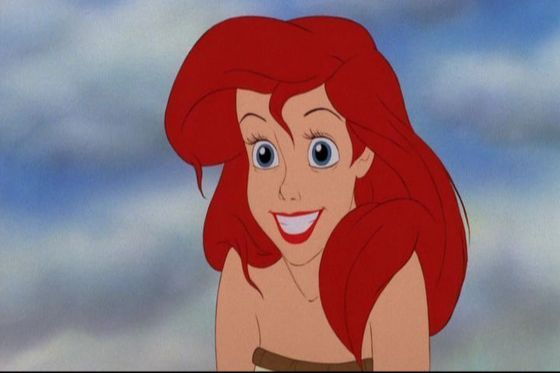 I 爱情 Ariel because she is ADVENTUROUS.