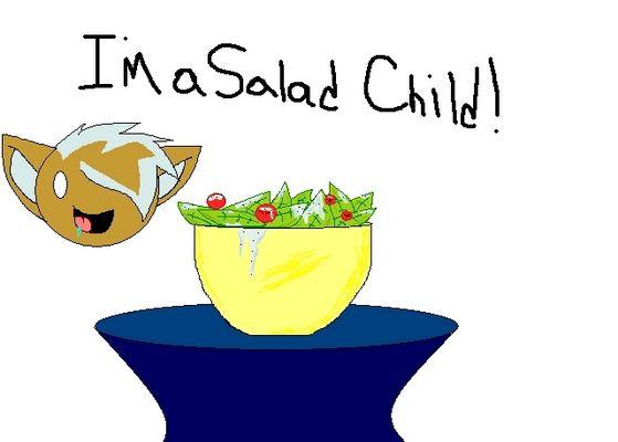 I'm a सलाद Child!